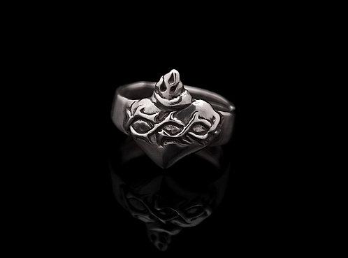 Heart & Thornes ring / Rock'n'Gold