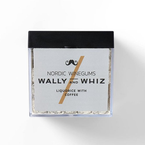 WALLY and WHIZ vegan winegums / liquorice with coffee