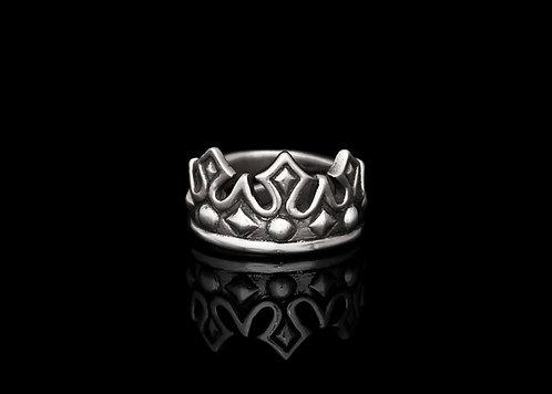 Crown ring / Rock'n'Gold