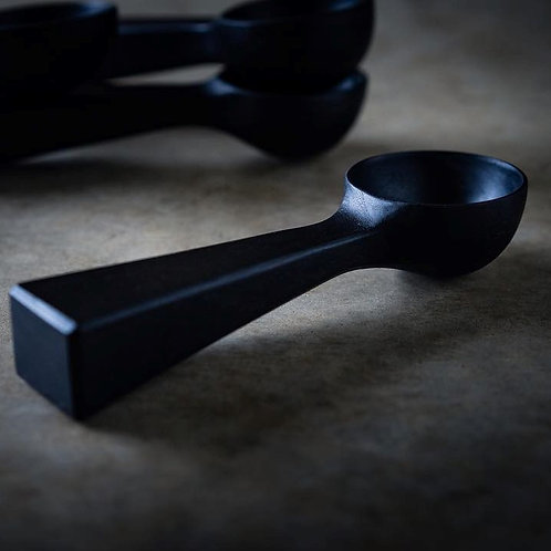 MY BLACK HEART coffee scoop / By Hand and Heart