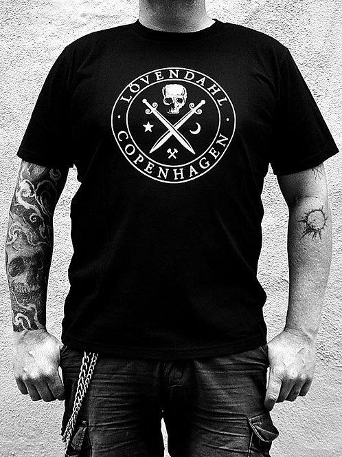 T-shirt with big logo / LÖVENDAHL
