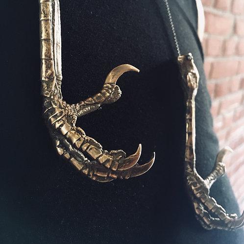 CROW'S FEET necklace / Fiona Dean + Janni Krogh