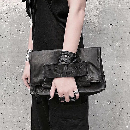 Leather clutch - big / Julia Fom