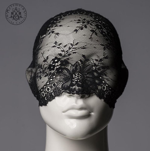 Black Lace Face Mask / Metamorph Quirky Couture