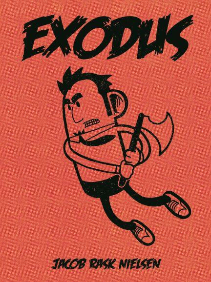 Zombie Comic Book EXODUS / Jacob Rask Nielsen