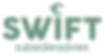 Logo Swift Subsidieadvies groen-wit hoge