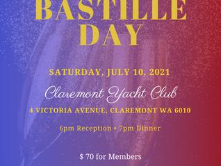 Annual Bastille Day 2021