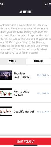 Exercise demo videos