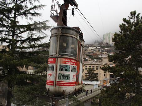 Fotoblog: Hrozivé sovětské lanovky v Čiatuře