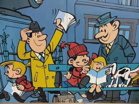 Komiks: Národní chlouba Belgie