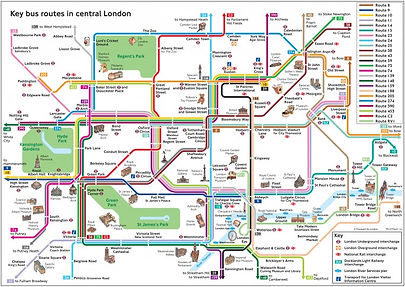 key-bus-routes-in-central-london-e144353