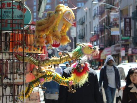 Čínská čtvrť v New Yorku: Kde uličky dýchají Asií