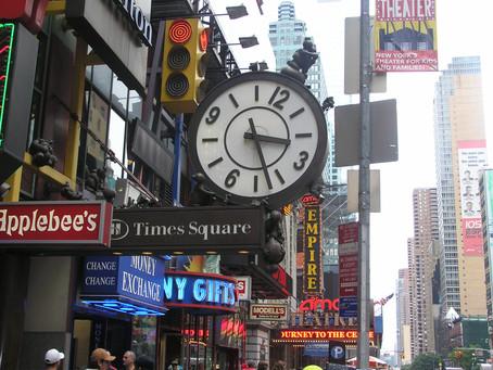Times Square: Rušná křižovatka, kde bije srdce New Yorku