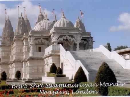 Největší hinduistický chrám mimo Indii