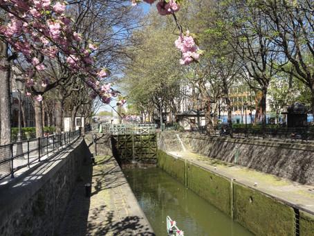 Pařížská procházka: Canal Saint-Martin
