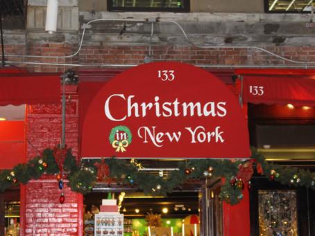 Stýská se vám po Vánocích? Celoroční vánoční atmosféra v New Yorku!