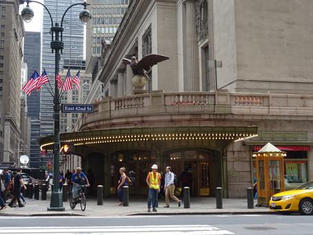 Nádraží Grand Central Terminal: Interiéry podobné paláci a místo, kde se v New Yorku dobře najíte