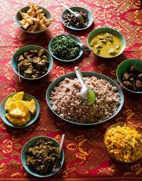 La gastronomie au Sri Lanka