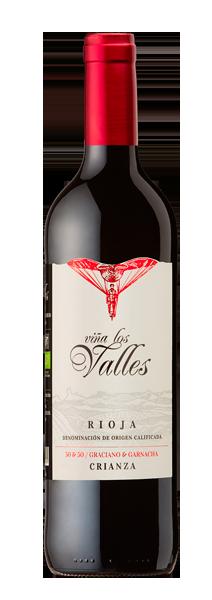 Vina Los Valles Crianza 葡之谷_久藏50&50(有機)