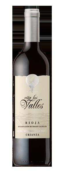 Vina Los Valles Crianza 葡之谷_久藏80&20(有機)