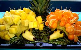 Harry and Hetty Fruit Hedgehogs