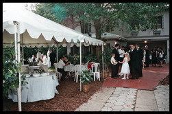 Wedding catering cold finger food buffet