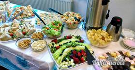 Super Duper  Buffet Party Menu