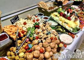 Large Grazing table served in Manchester