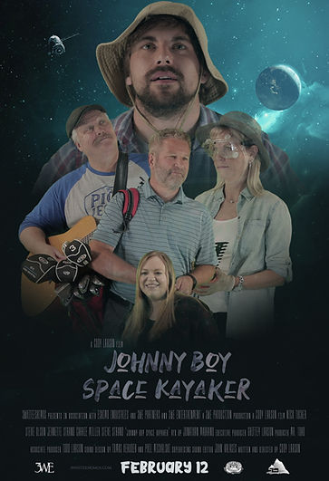 3WhiteEskimos - Johnny Boy Space Kayaker (2021)