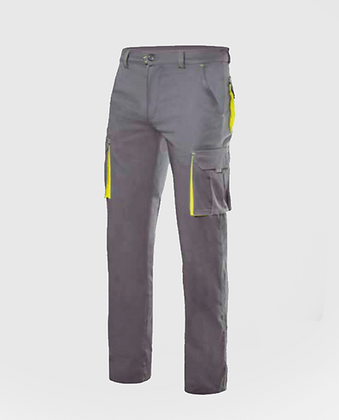 Pantalons stretch bicolor multibutxaques VELILLA