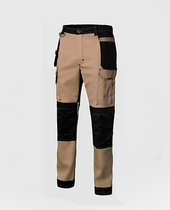 Pantalons canvas stretch VELILLA