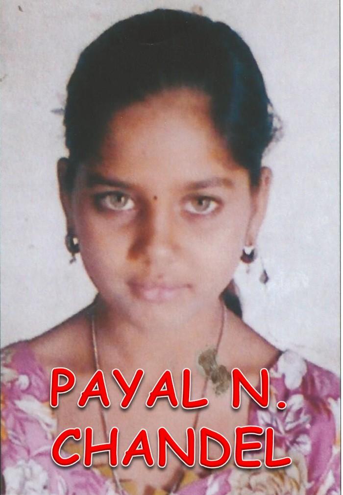 (37) Payal Naresh Chandel