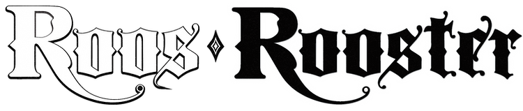 Roos Rooster Font Logo.png