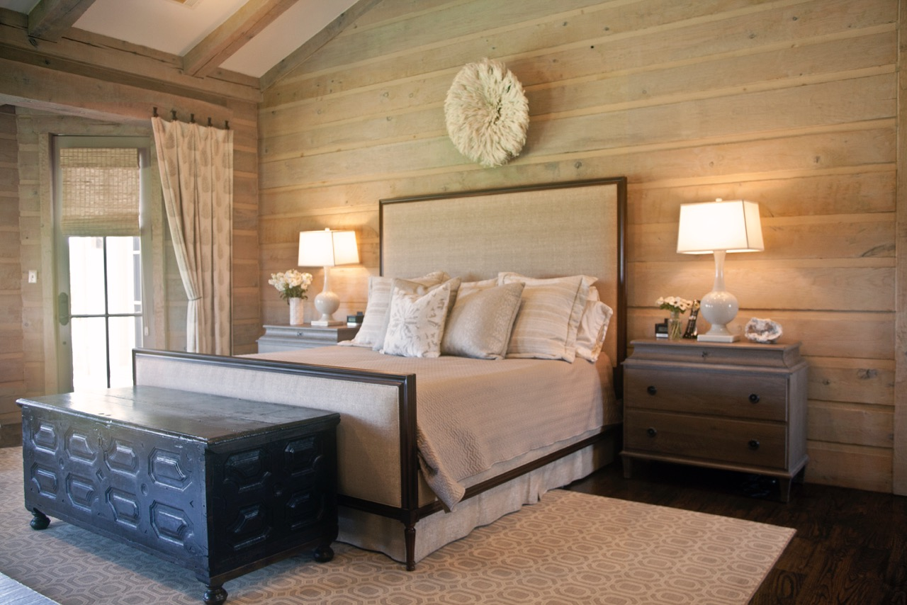 Shoreview Farmhouse Master Bedroom