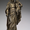Thumbnail: A French bronze sculpture of Mary and Child, circa 1640  (P10)