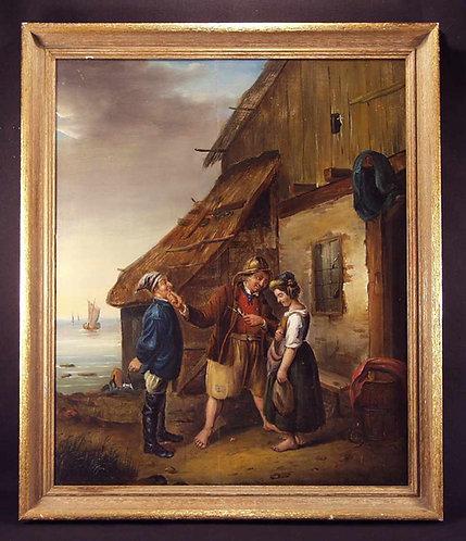 Oil on panel (F49)
