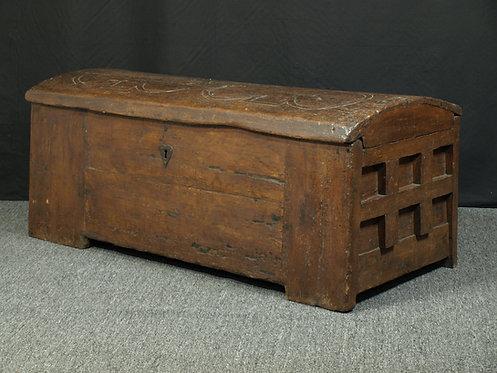 A rare medieval chest, German, circa 1380  (P05)