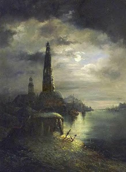 Jan de Coster, signed 1882  (F03)