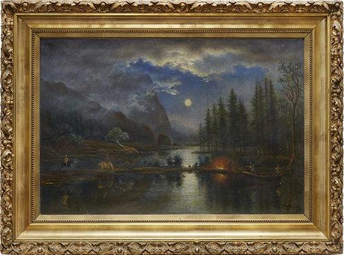 Joseph Geissler oil on canvas, 1897 (V16)