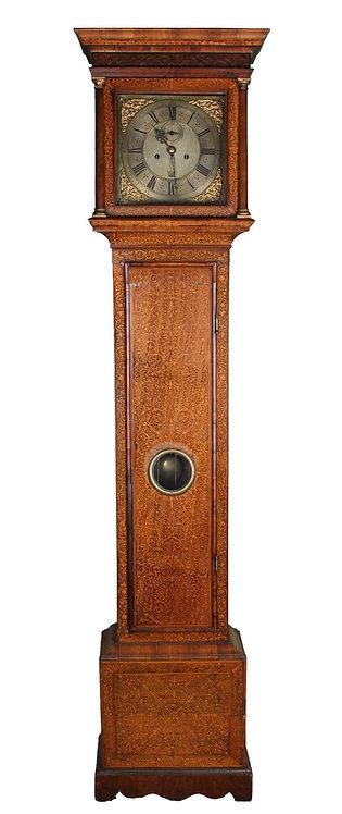 A  fine English seaweed marquetry longcase clock, Daniel Robinson, c. 1715 (V21)