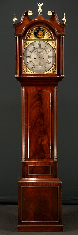A Scottish masonic longcase clock, late 18th century  (B06)