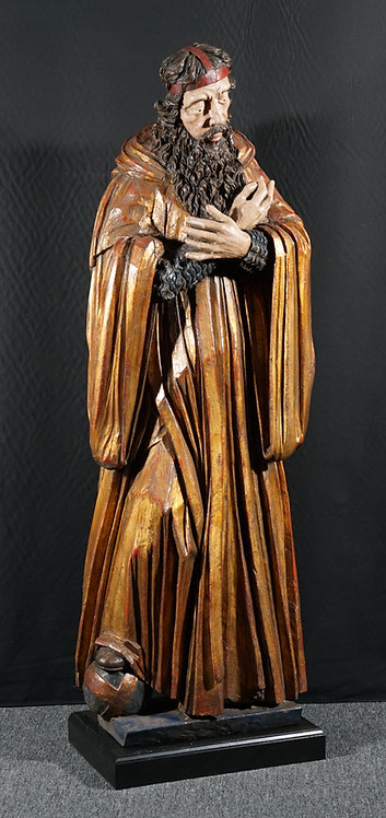 A life-size sculpture of the apostle Peter, 18th century (T24)