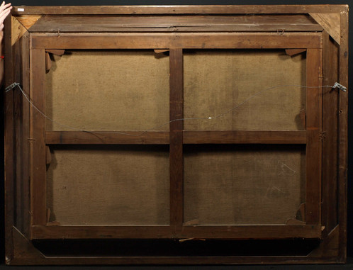 canvas size 55 x 39 frame size 66 x 50