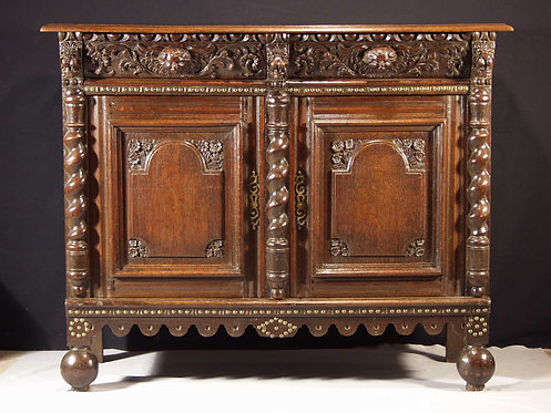 A Flemish Baroque buffet, Third Quarter 17th century  (H18)