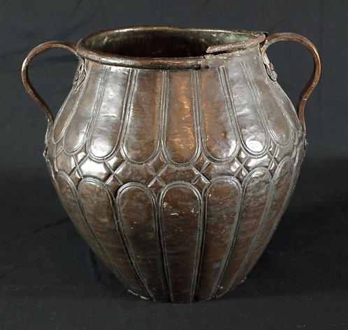 An Italian copper vessel, 16th/17th century  (Q30)
