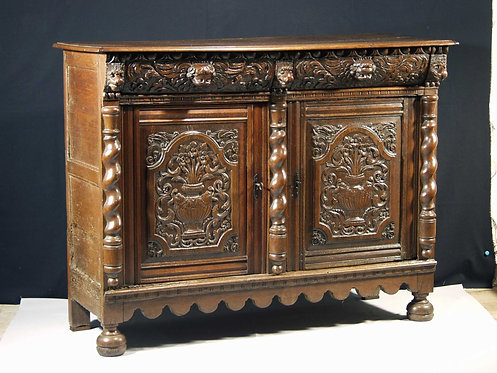 A Flemish Baroque buffet, 2nd half 17th century  (H26)