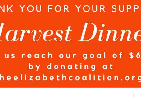 Thank You For Your Support for the 2020 Harvest Dinner