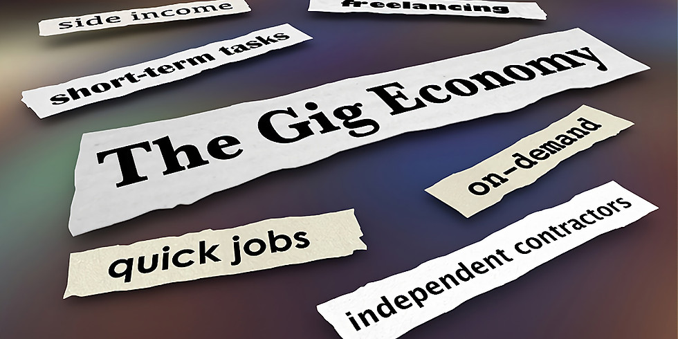 #9 NEW WORK: Update on the Gig Economy