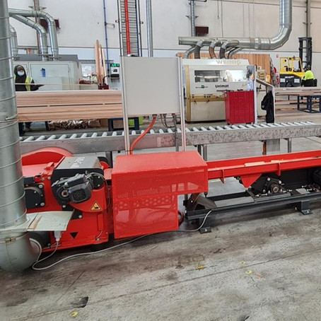 Premier Wood – WEIMA horizontal shredder WLH, for long and thin wood offcuts