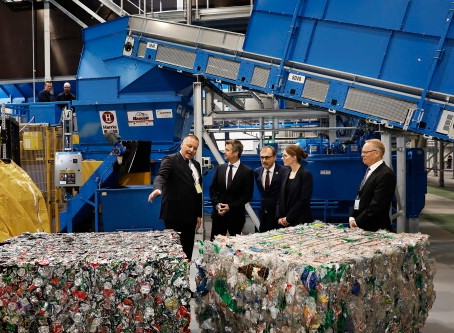New STADLER automated plant for Dansk Retursystem begins